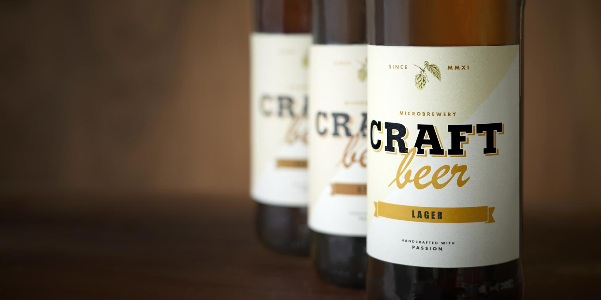 Craft-Beer-Flaschen