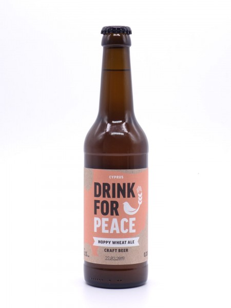 drink-for-peace-cyprus-hoppy-wheat-ale-flasche