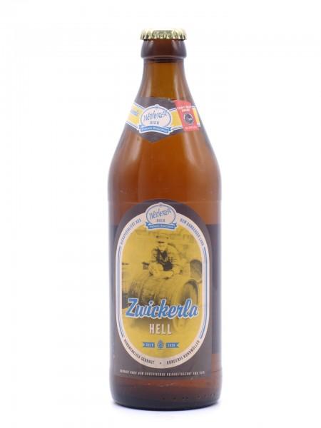 weiherer-zwickerla-hell-flasche