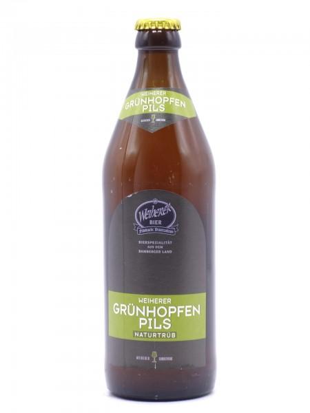 weiherer-gruenhopfen-pils-flasche