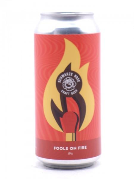 Schwarze Rose - Fools on Fire