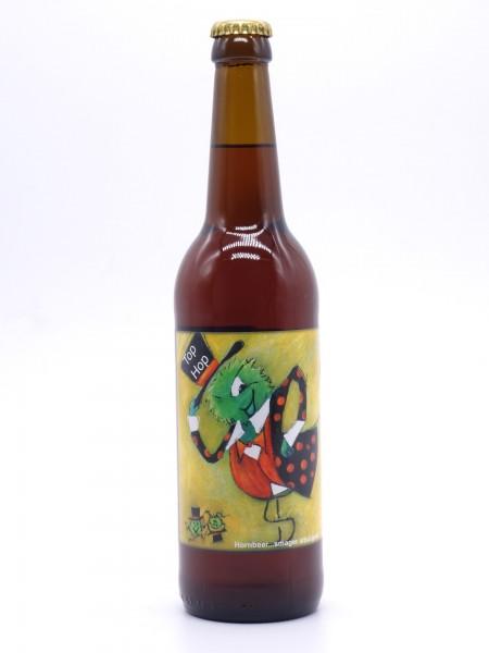 hornbeer-tophop-flasche